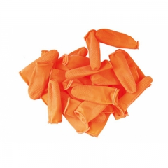 Fingercondome extra lang, orange, 25 Stück, large