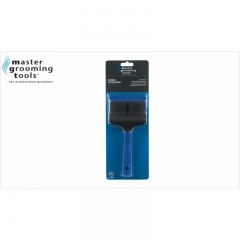 Master Grooming, Flexible Slicker Brush, 2  seitige...